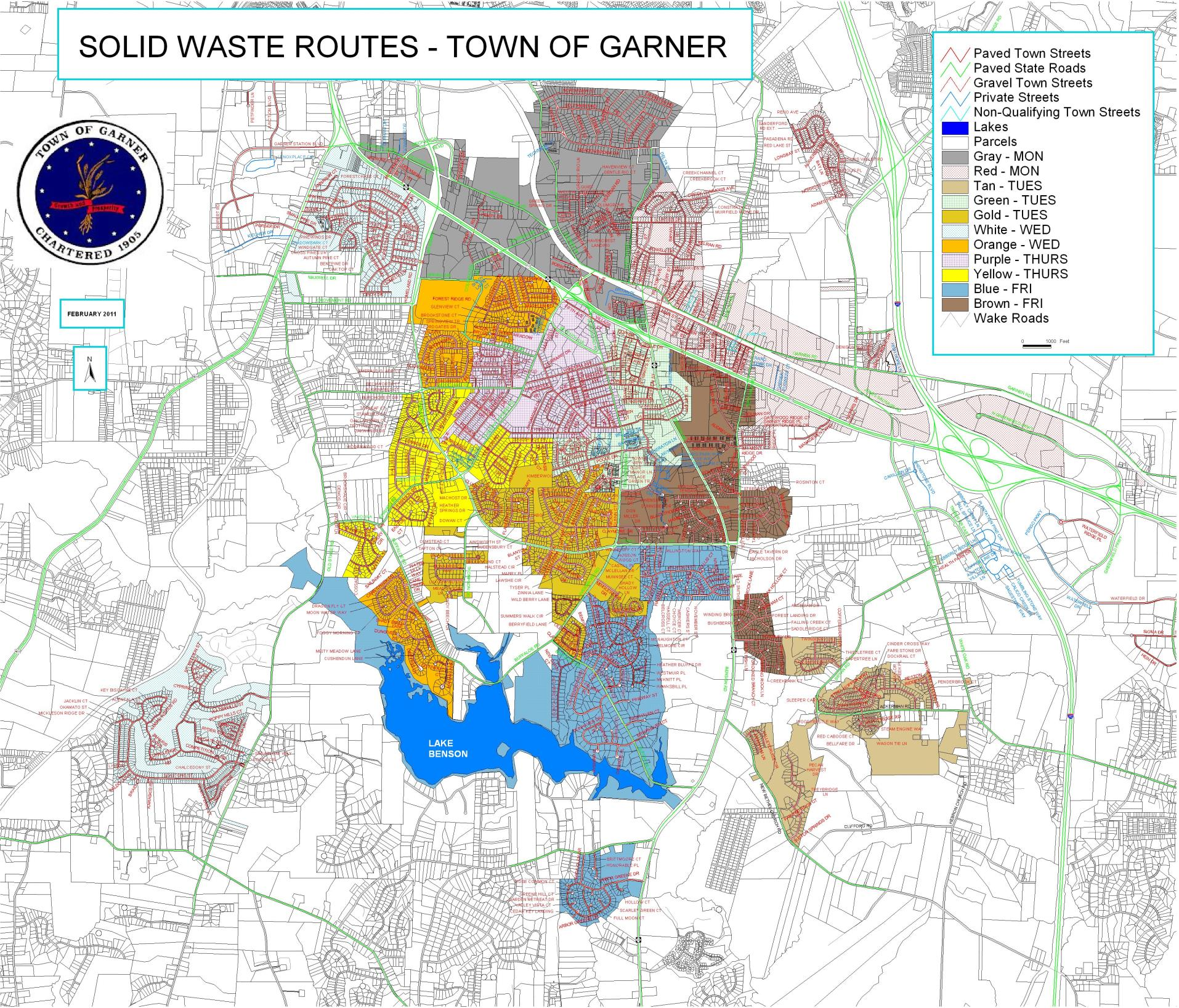 Utilities and Solid Waste Services | Town of Garner, NC on garner north carolina weather, state of n carolina map, garner north carolina maurice dixon, garner nc, garner virginia map, garner raleigh map, garner north carolina newspaper,