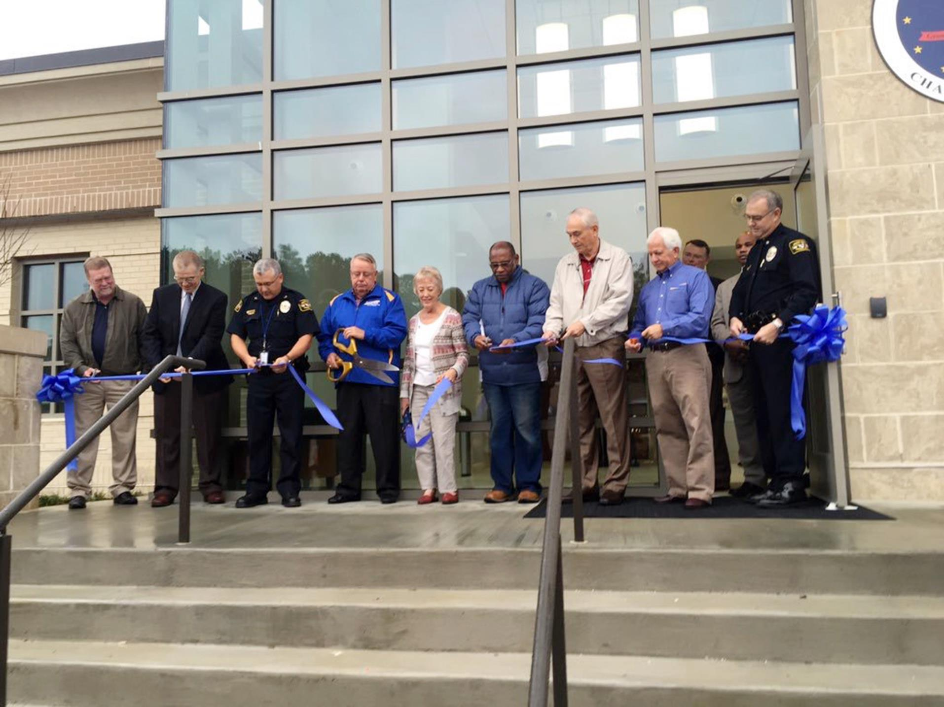 PD ribbon cutting