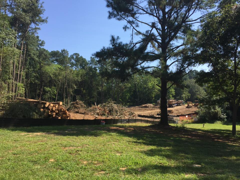 rec center site clearing sept16