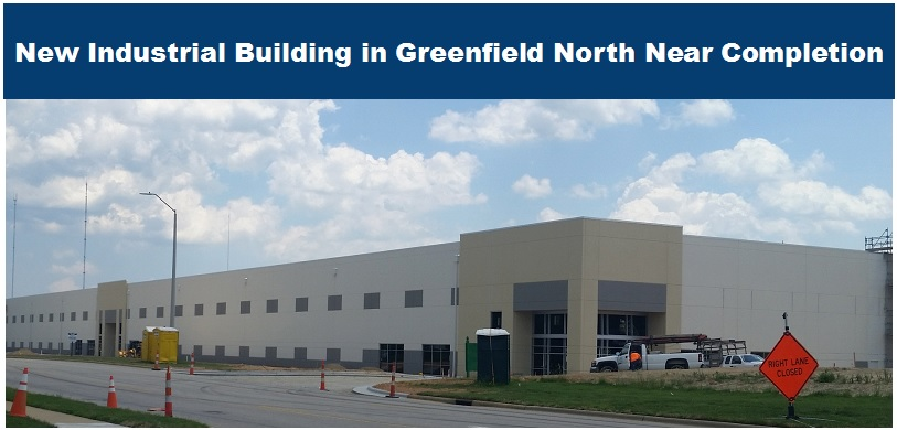 1001 Greenfield North Building Near Completion