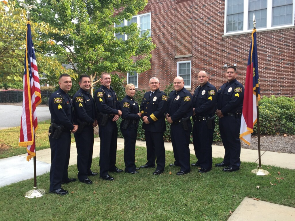 Garner PD Promotes Seven Officers   News List   Town of Garner, NC