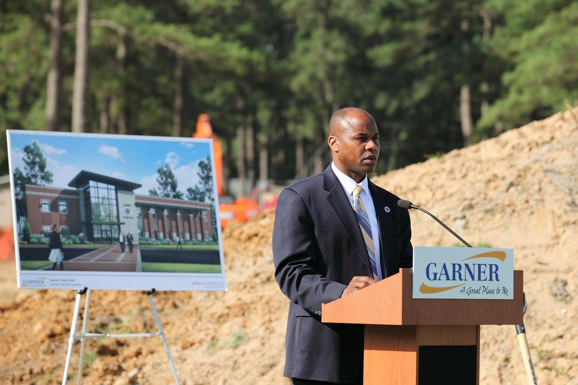 Rodney Dickerson_Town Hall Groundbreaking