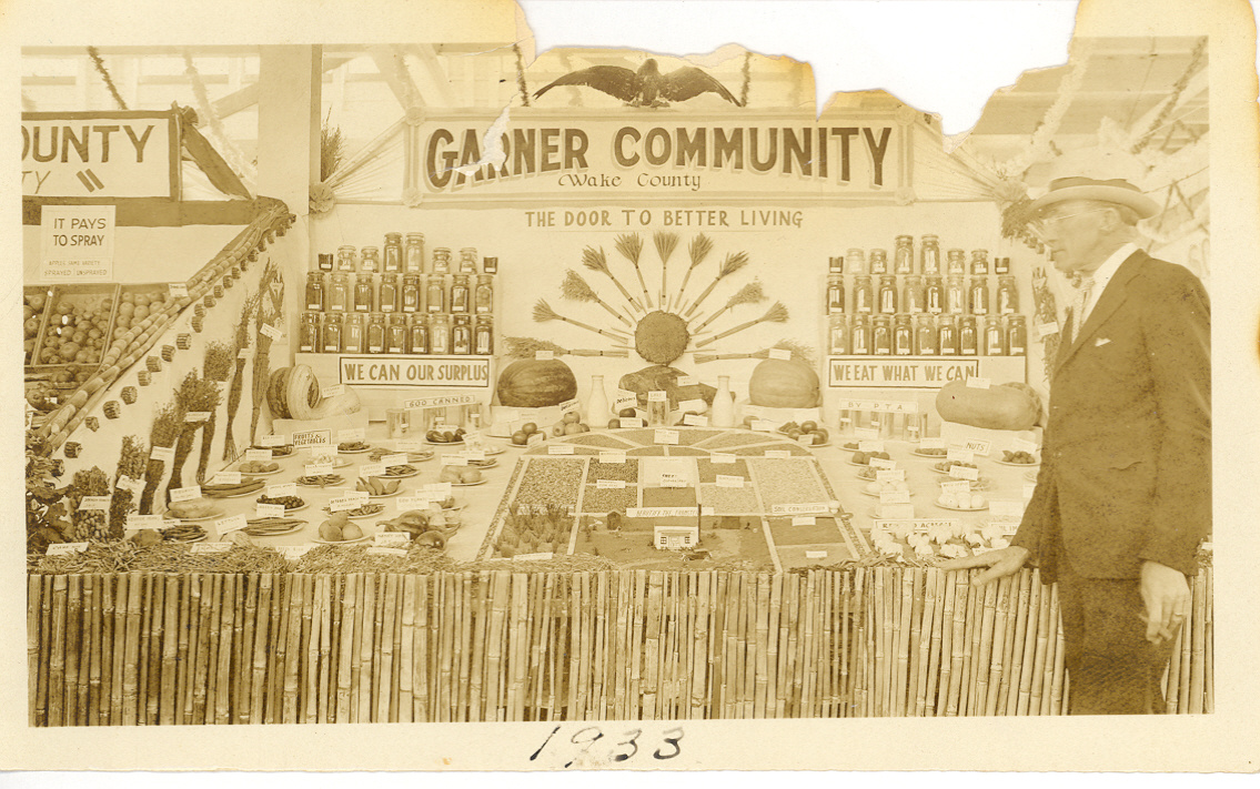 1933 State Fair Exhibit - Garner, NC - Numa Broughton